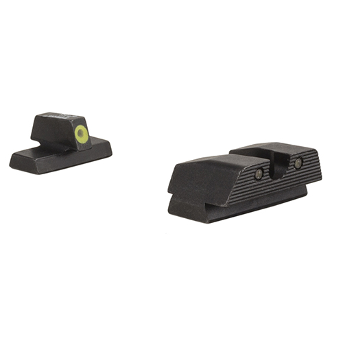 Trijicon HD XR Night Sight Set Beretta APX Models (Yellow Front Outline) by Trijicon
