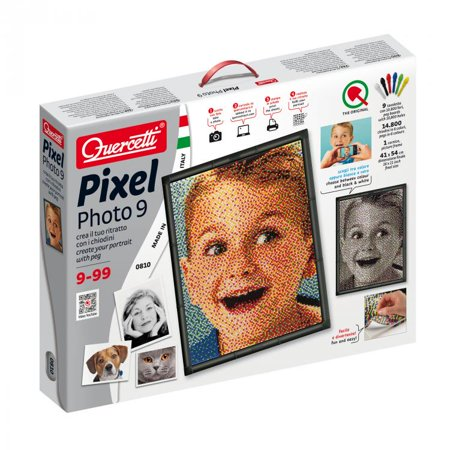 PIXEL Photo Art 9 peg boards - Flame Peg