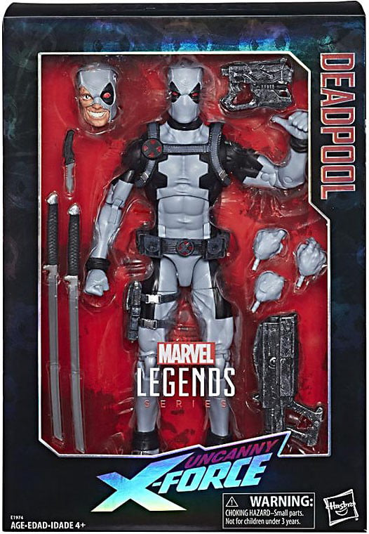 Marvel Legends Deadpool Deluxe Collector Action Figure [Uncanny X-Men] by