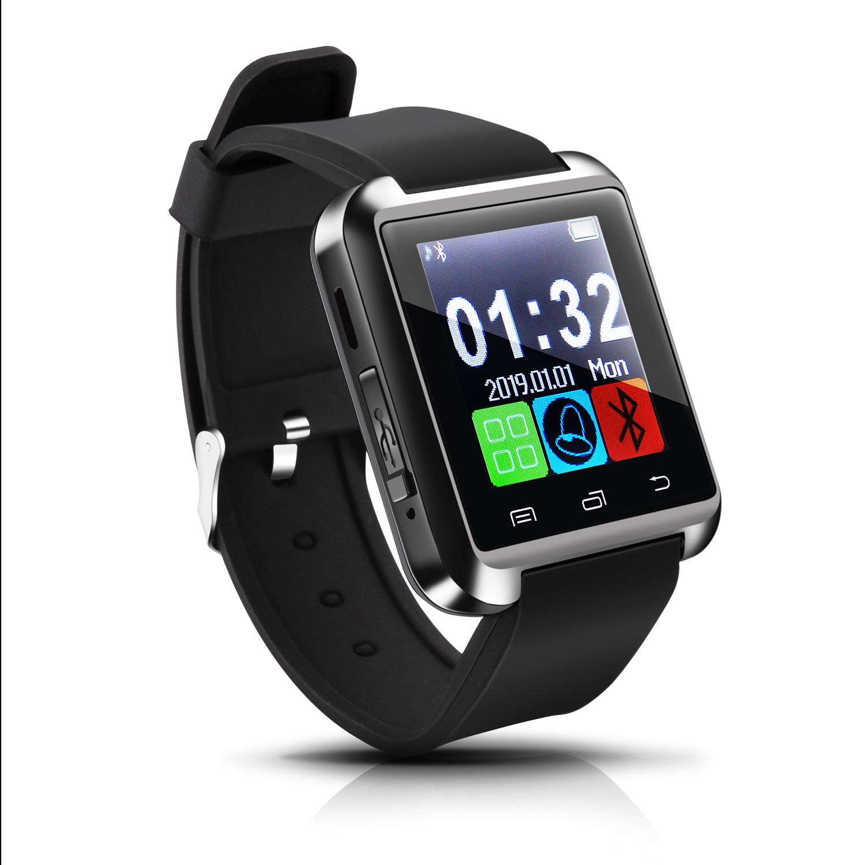 AGPtek Smart Watch Fitness Tracker for Kids and Mens Black