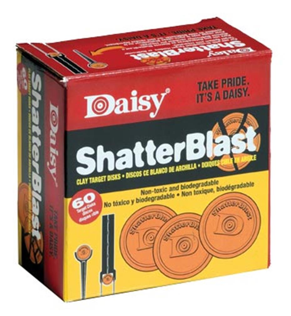 Daisy Outdoor Products Targets Shatterblast, Per 60 by Daisy
