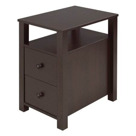 Brassex Inc. Telephone Stand with 2 Drawers 2 Drawer Phone Stand