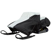 Black Ice Extreme Protection Waterproof Snowmobile Cover, Multiple Sizes