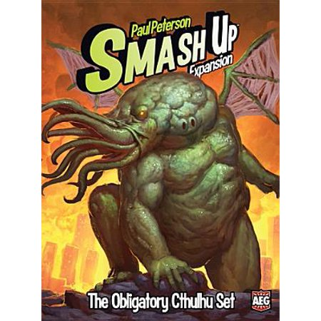 Alderac Entertainment Group Smash Up The Obligatory Cthulhu Expansion Game - Group Halloween Games
