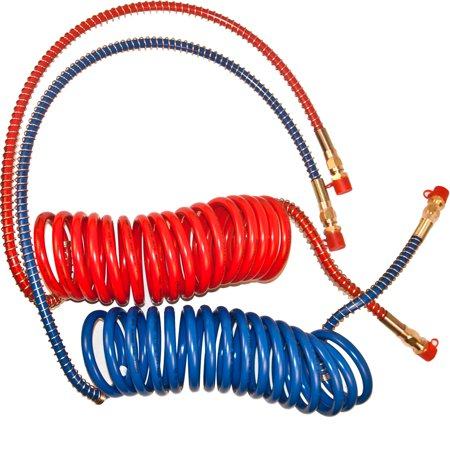 Air Brake System (15' Coiled Air Brake Hose Red/Blue include 40