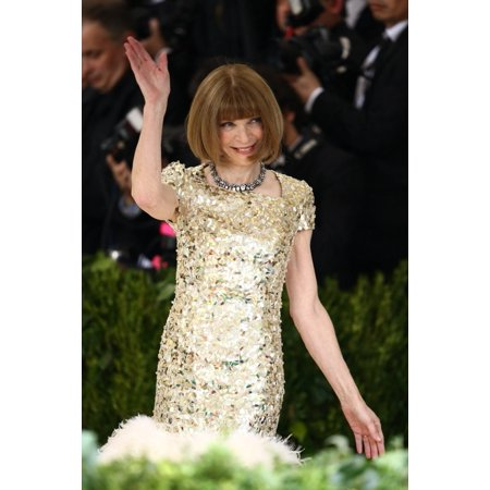 Anna Wintour At Arrivals For Rei Kawakubo & Comme Des Garcons Costume Institute Gala - Arrivals 1 Metropolitan Museum Of Art New York Ny May 1 2017 Photo By John NacionEverett Collection Celebrity](Des Photo D'halloween)