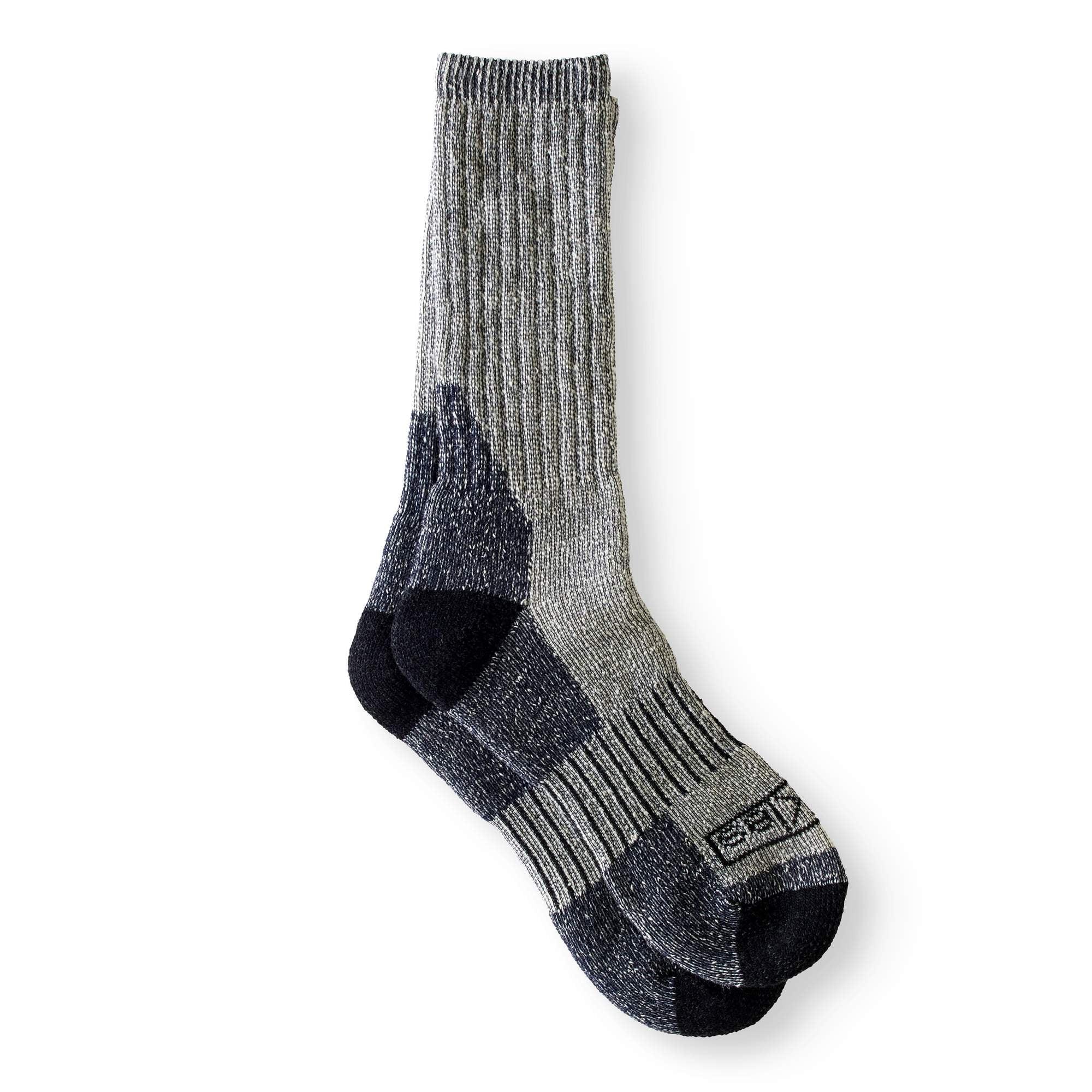 Black Gray /& Navy Blue Mens Winter Thermal 4 Pack Socks