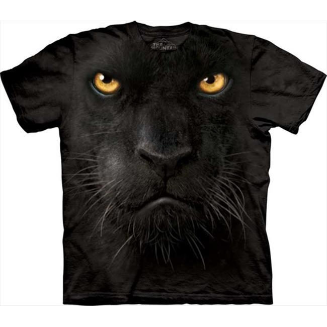 Mountain Corp 1532463 Black Panther Face - Kids X Large T-Shirt
