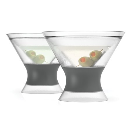 Martini Plastic Cups (Martini FREEZE Cooling Cups (set of 2) by)