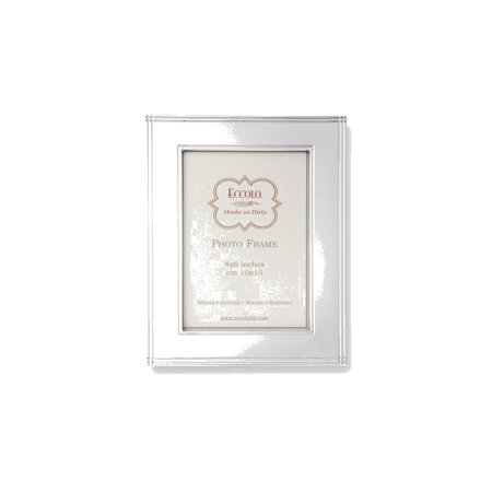 Eccolo Sterling Silver Chased Border Photo Frame - Engravable ...