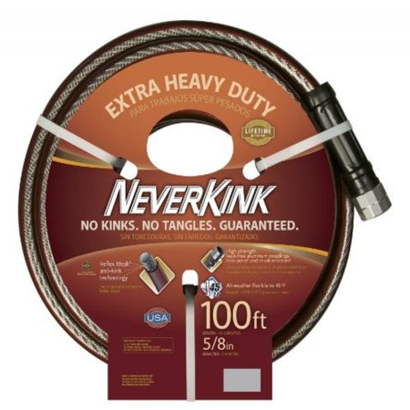 Image of NeverKink 8642-100 Series 3000 Extra Heavy Duty Garden Hose, 5/8-Inch by 100-Feet