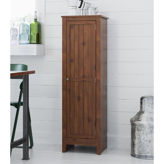 Ameriwood Home Milford Single Door Storage Pantry Cabinet
