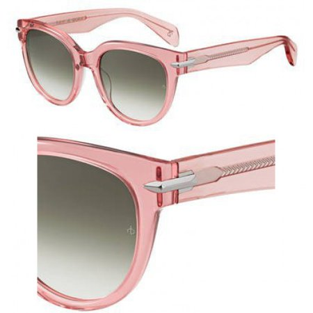 Sunglasses Rag and Bone Rnb 1003 /S 035J Pink / 9K gray green lens