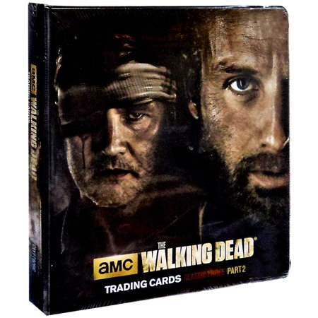 Amc Tv The Walking Dead Season 3 Part 2 Trading Card Binder