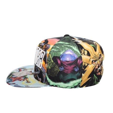 Bioworld Licensed Sinister Six - Spiderman All Over Sublimated Snapback Hat - image 4 de 5