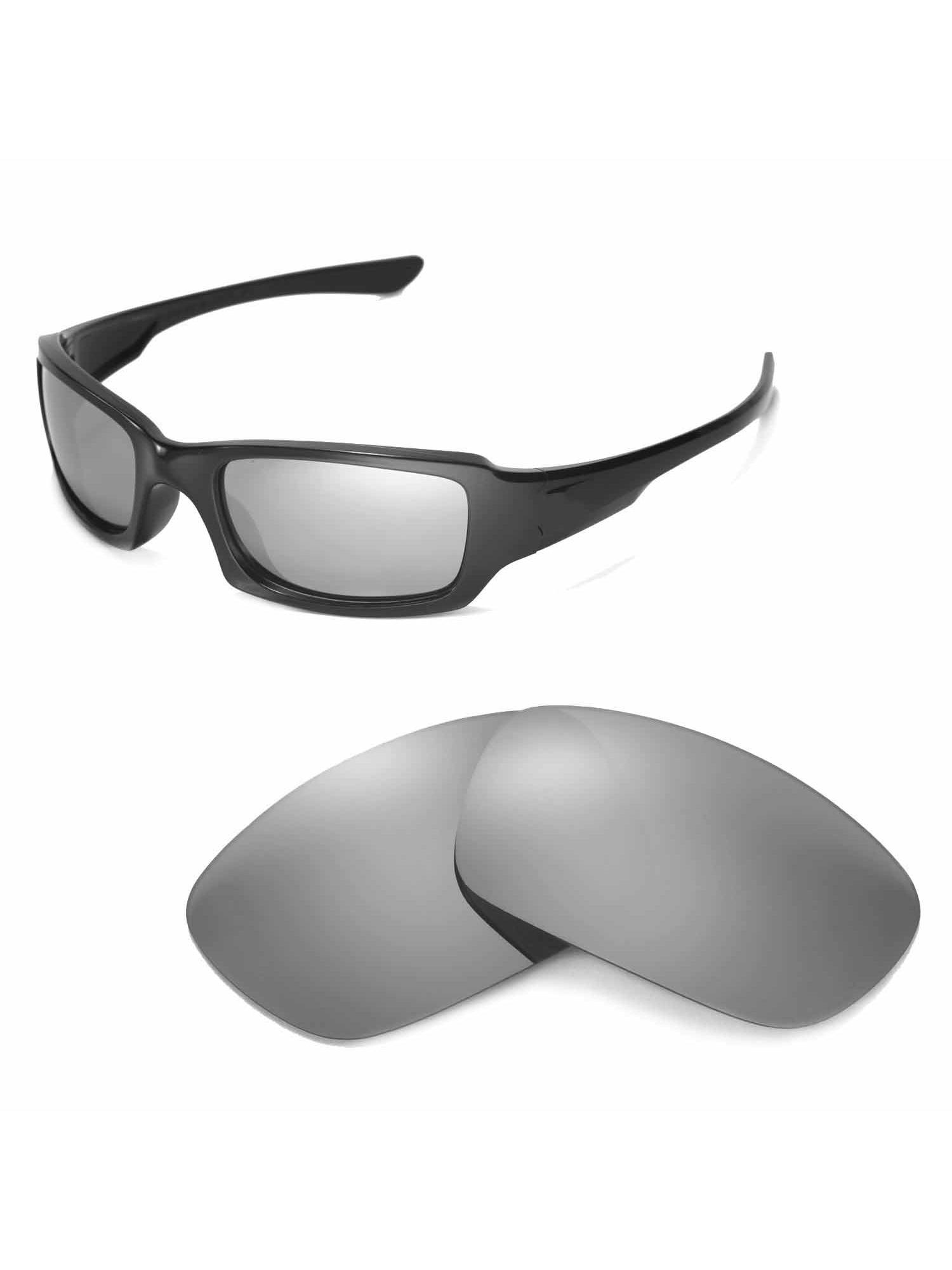 Pace della mente valutare ostaggio  Walleva - Walleva Titanium Polarized Replacement Lenses for Oakley Fives  Squared Sunglasses - Walmart.com - Walmart.com