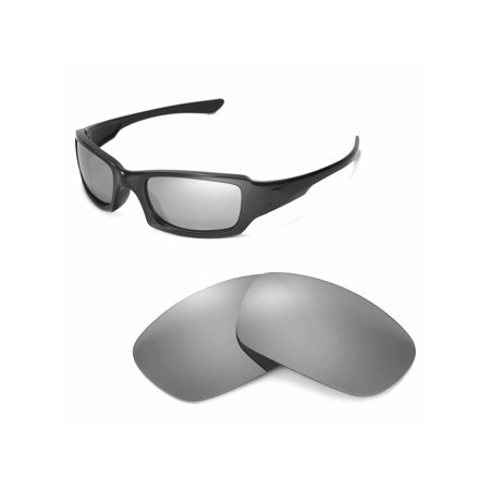 b13c54e0e47 Walleva - Walleva Titanium Replacement Lenses for Oakley Fives Squared  Sunglasses - Walmart.com