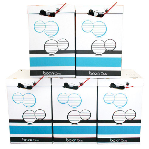 Boxa OMNI - Shipping, Mailing and Moving Box - 5 PACK BXA4OM050BB05