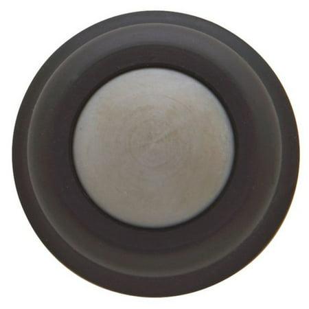 Baldwin 4015.102 Wall Type Flush Bumper, Oil Rubbed Bronze Supply Flush Type Material