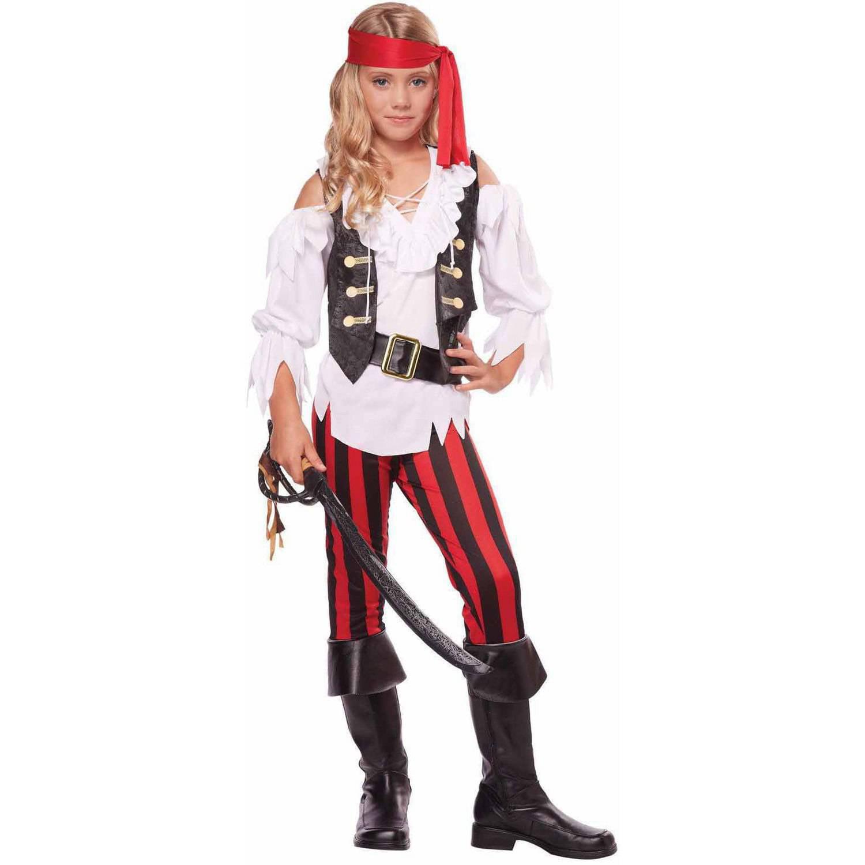 Posh Pirate Girls' Child Halloween Costume