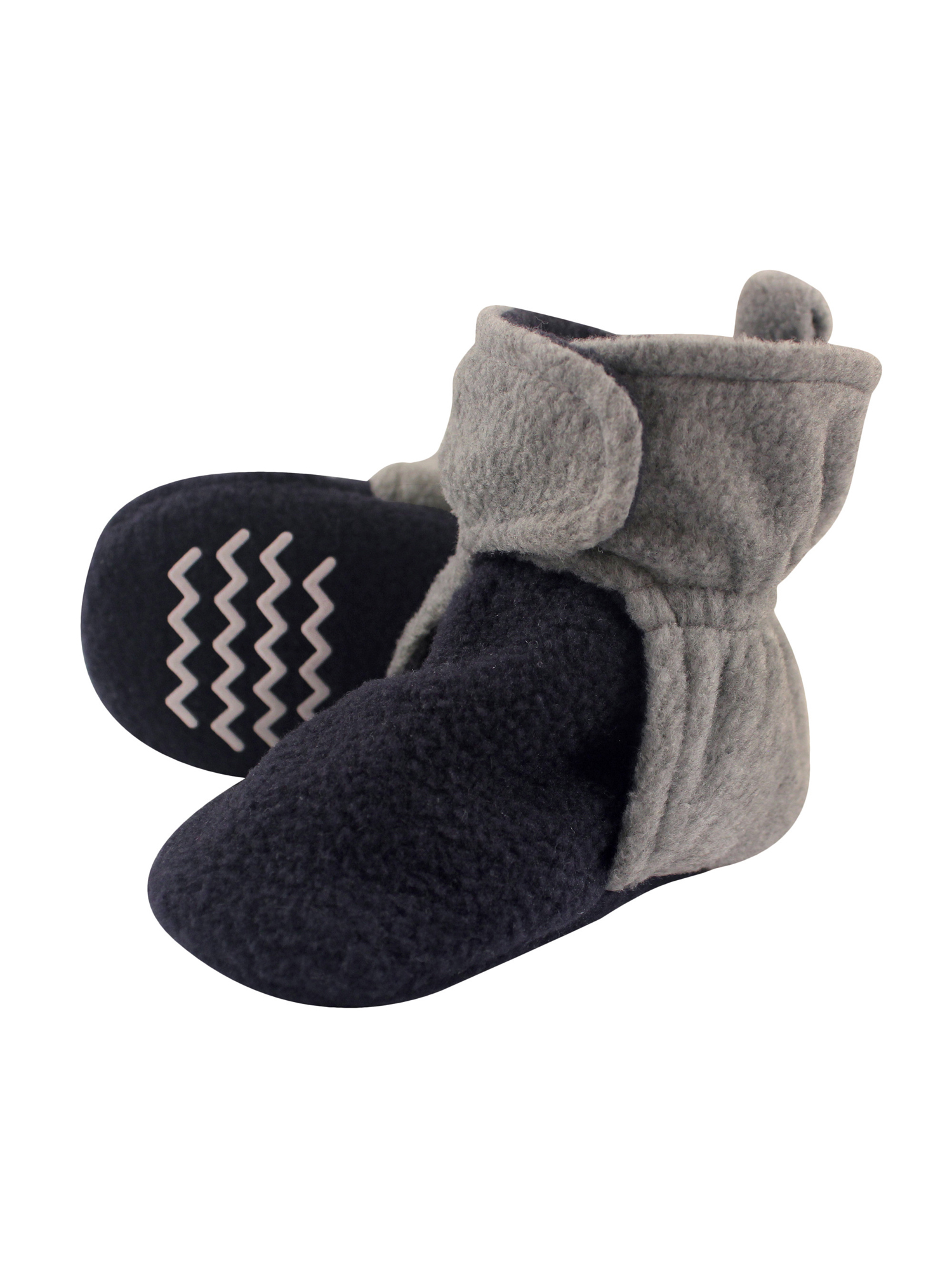 Toddler Boy Cozy Fleece Booties