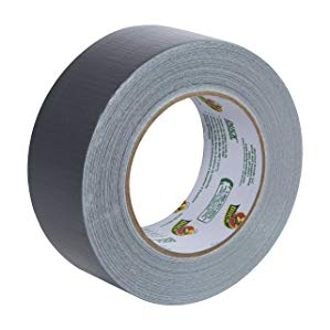 1 67236 24mm White-Industrial Grade Duct Tape Single Roll