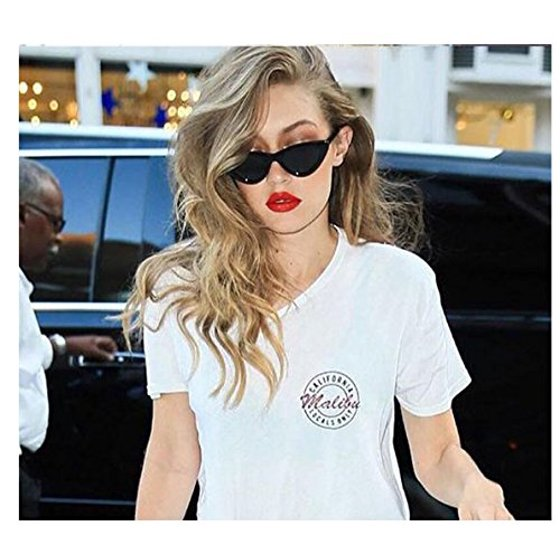 9a72a9abd0 MJEWELRYGIFT - Clout Goggles Cat Eye Sunglasses Vintage Mod Style ...