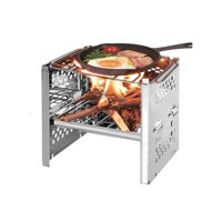 SUNSIOM Mini BBQ Stove High-Strength Stainless Steel