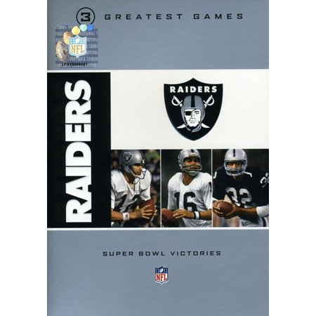 NFL Oakland Raiders 3 Greatest Games: Super Bowl (Best Parking For Raiders Games)