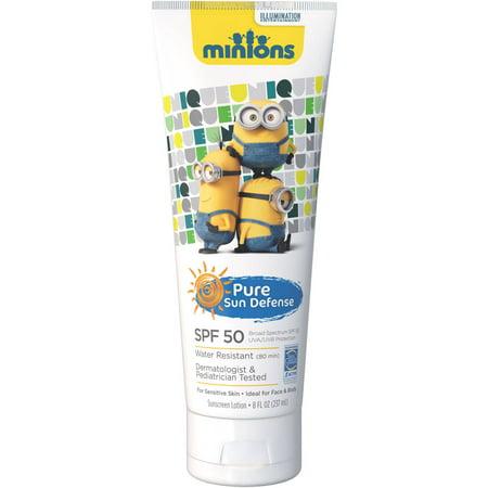 Pure Sun Defense Minions Lotion