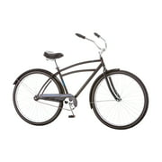 "Schwinn Gammon 29"" Men's Retro Style Single Speed Comfort Cruiser Bicycle, Black"