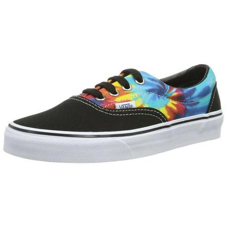 vans era tie dye skate shoes