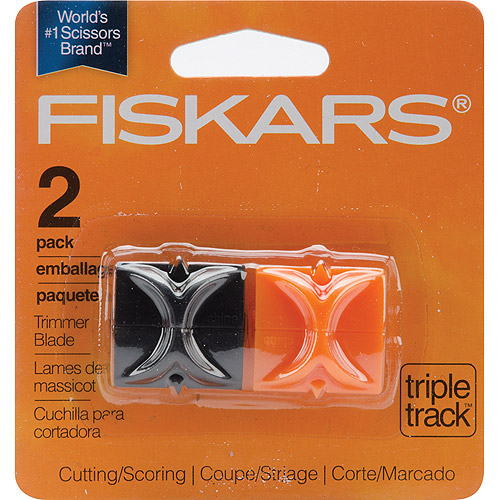 Fiskars Tripletrack Refill Blade Carriages, Cutting & Scoring Blades