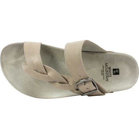 6ac1c1be4b5e White Mountain - Women s White Mountain Crawford Thong Sandal - Walmart.com