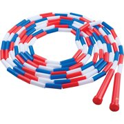 Champion Sports, CSIPR16, Plastic Segmented Jump Rope, 1, Assorted,White,Red,Blue