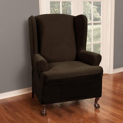 Maytex Reeves Polyester/Spandex Wing Chair Slipcover
