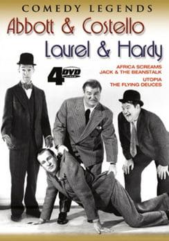 Comedy Legends: Abbott & Costello   Laurel & Hardy (DVD) by Platinum Disc Corporation