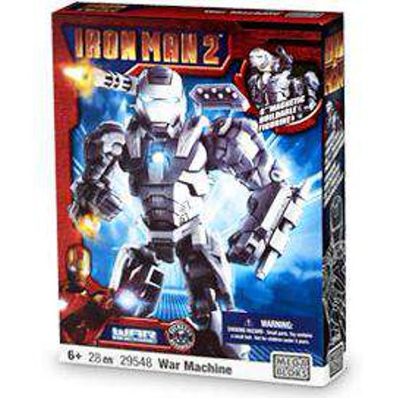 Iron Man 2 War Machine Set Mega Bloks 29548 [No (Mega Bloks Dragons Krystal Wars Man O War)