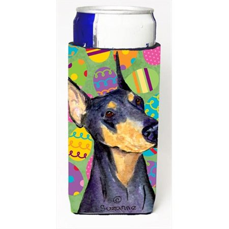 Doberman Easter Eggtravaganza Michelob Ultra bottle sleeves For Slim Cans - image 1 of 1
