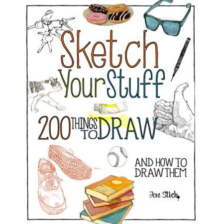 Sketch Your Stuff : 200 Things to Draw and How to Draw Them - Halloween Things To Draw