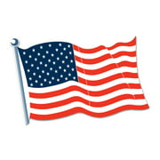 Beistle Patriotic Party American Flag Cutout (Case of 24)