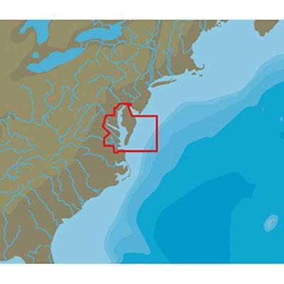 C-Map NT+ NA-C335 Chesapeake Bay - C-Card Format