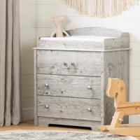 South Shore Aviron Changing Table with Drawers, Multiple Finishes