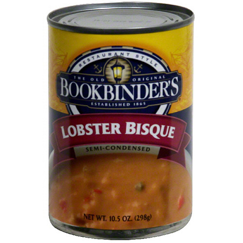 lobster bisque calories