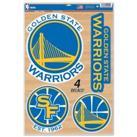 """Golden State Warriors WinCraft 11"""" x 17"""" Multi-Use Decal Sheet - No Size"""