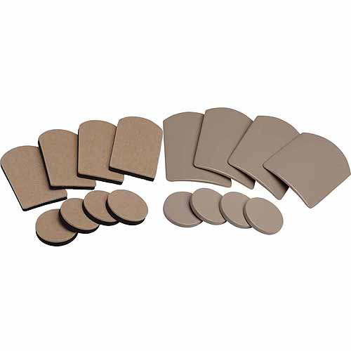 Shepherd 9045 Furniture Glides & Sliders Assorted 16 Count