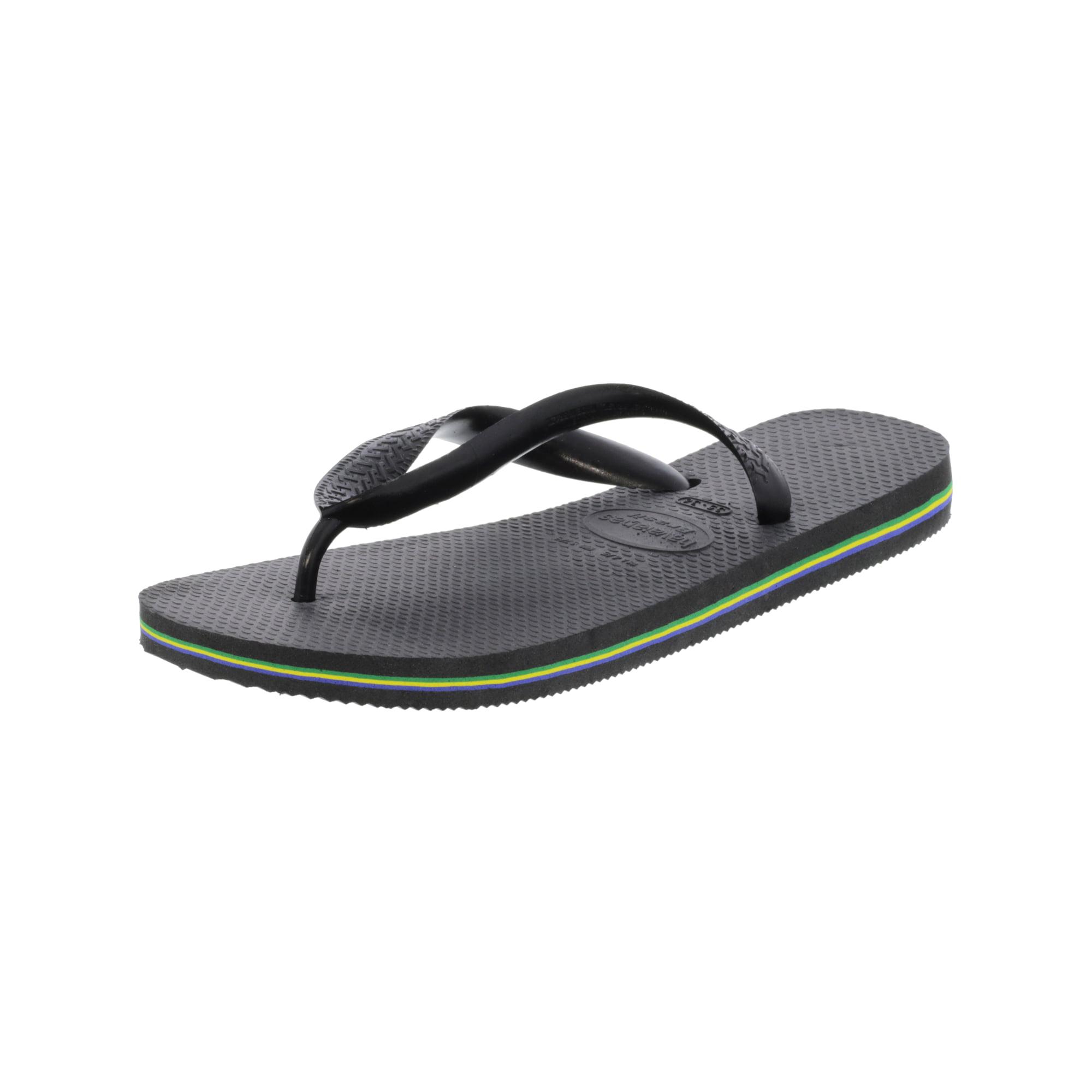 b1792edc1e83 Havaianas Women s Brazil Black Rubber Sandal - 5M