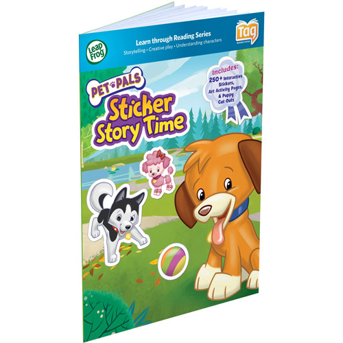 LeapFrog LeapReader Book: Pet Pals Sticker Story Time (works with Tag)
