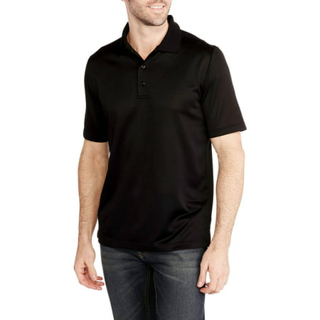 George Big mens short sleeve performance polo