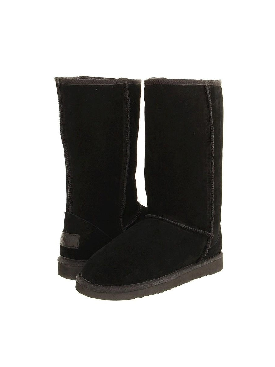Flojos Arctic Womens Black Boots, 6M by Flojos